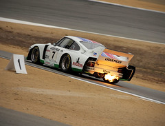 Flamethrower (autoidiodyssey) Tags: car race vintage fire flame porsche gt 1979 935 backfire imsa gtx montereyhistorics aagt worldcars 2011rolexmontereymotorsportsreunion