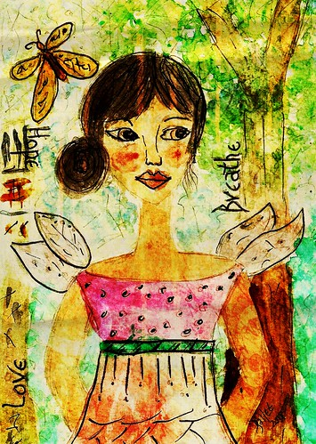 Card - Breathe my Love by BeverlyDiane