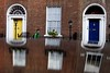. (ngravity) Tags: street ireland dublin color reflection canon doors candid colorphotography streetphotography walker nocrop eos50d thedefiningtouch deftouch makrygiannakis
