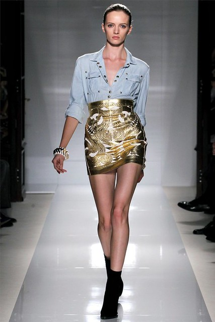 balmain spring 2012 taken by richgirllowlife