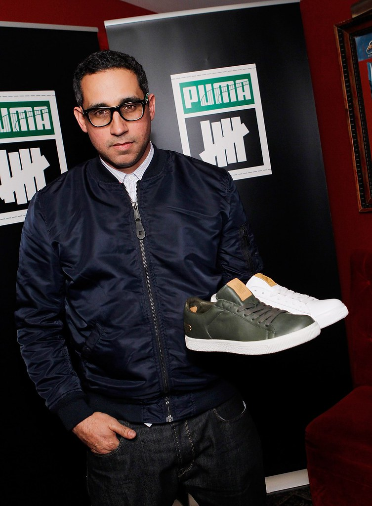 Co-Founder of Undefeated Eddie Cruz attends the next chapter of the PUMA Clyde event at the House of Blues Las Vegas on February 14, 2011 in Las Vegas, Nevada.