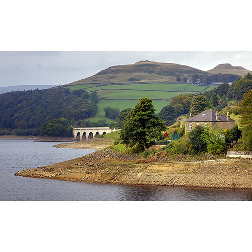 Ladybower reservoir