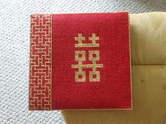 Back Cover of Wedding Photo Album (shaunna_f) Tags: crafts yarn needlepoint stitching plasticcanvas