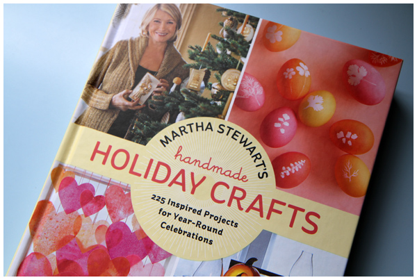 Preview inside the new Martha Stewart's Handmade Holiday Crafts book