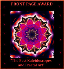 FRONT PAGE AWARD FOR BEST FRACTALS