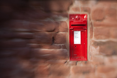 752/1000 - Postbox by Mark Carline