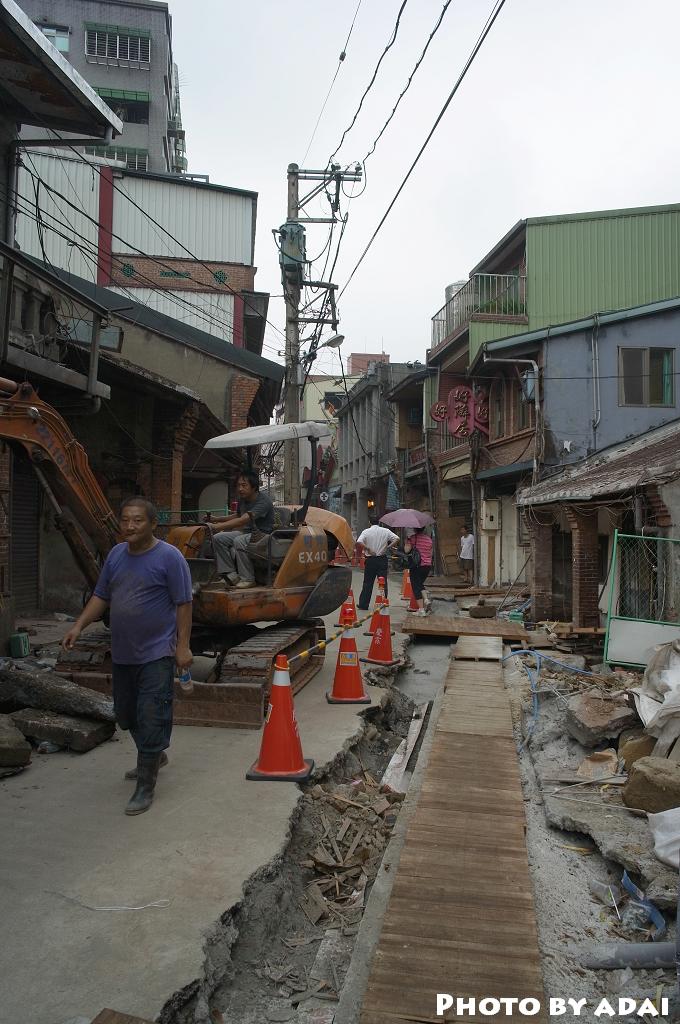 2011.9.30 施工中的深坑老街_GXR28