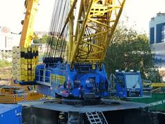 Terex Demag PC/CC6800 (skumroffe) Tags: ltm bridge pc lift sweden stockholm crane cc uppsala 6800 kran crawler pedestal 1220 liebherr sundbyberg terex lyftkran demag tvrbanan cc6800 binsell terexdemagcc6800 havator pc6800 brolyft terexdemagpc6800