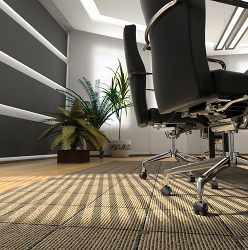 Koydol Carpet Tile: Lines Collection