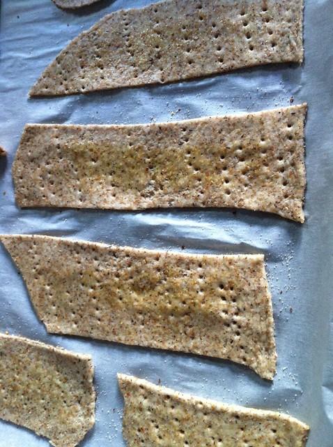 preparazione crackers