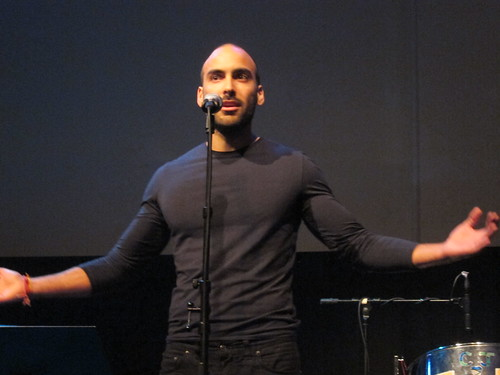 Vikram Kolmannskog reads a poem