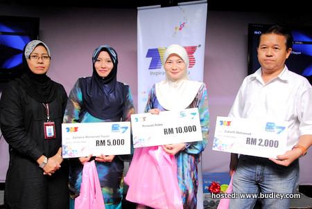 Para Pemenang Peraduan Tonton & Menang Ulangtahun TV3 ke-27