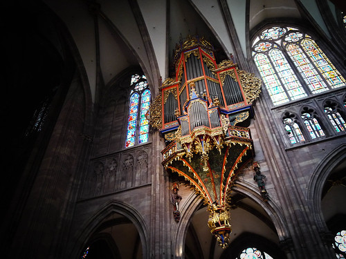 The Strasbourg Cathedral's organ