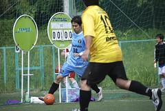 The fourth match 2011/09/25 (oldneworld) Tags: portrait green sports ball nikon uniform shot soccer pass match athlete  turf dribble futsal        d80  moviing