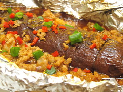 Special Baked Brinjal and Minced meat