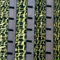 ~15~ (Dialed-in!) Tags: seattle city urban distortion abstract reflection building glass vertical skyscraper concrete downtown pattern columns 15 rows squareformat repetition fifteen fragments 500x500 dialedin thechallengefactory thepinnaclehof tphofweek122