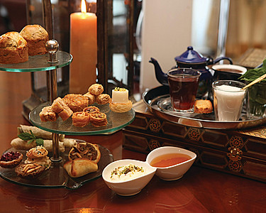 Arabesque Afternoon Tea at Four Seasons Amman