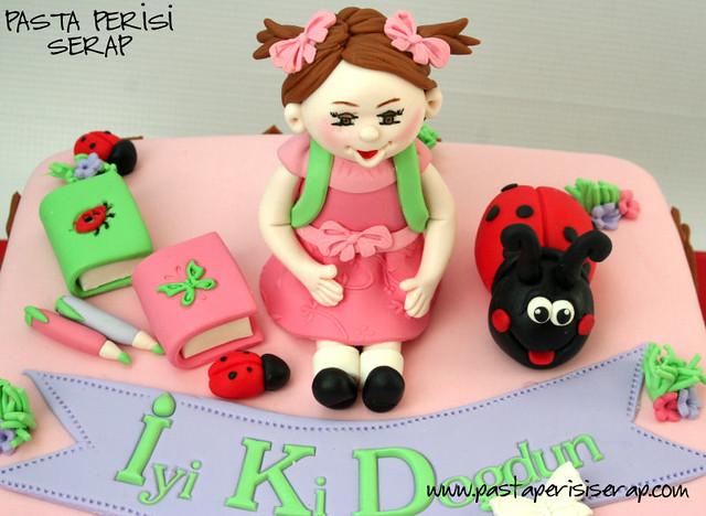Uğur böceği pastası - Ecrin