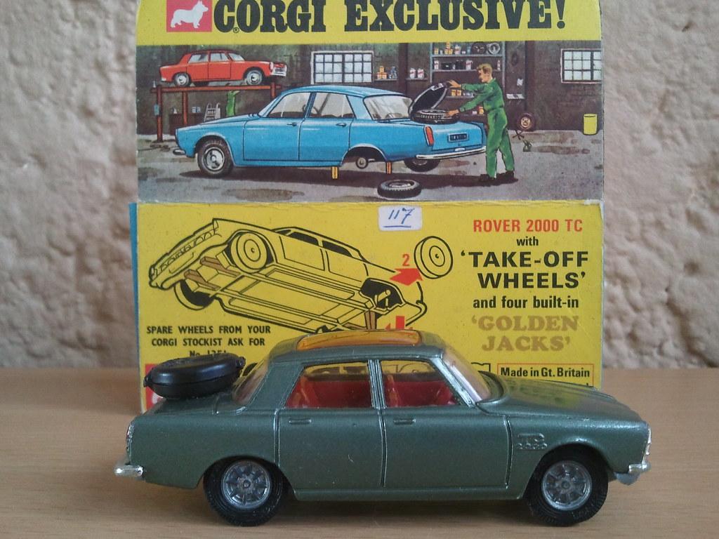 Rover 2000 TC, Corgi Toys (275)