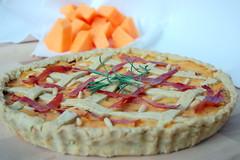 Crostata di zucca, patate e prosciutto crudo - panoramica (Alterkitchen) Tags: potatoes squash tart pinenuts zucca quiche patate crostata ricette pinoli prosciuttocrudo tortasalata