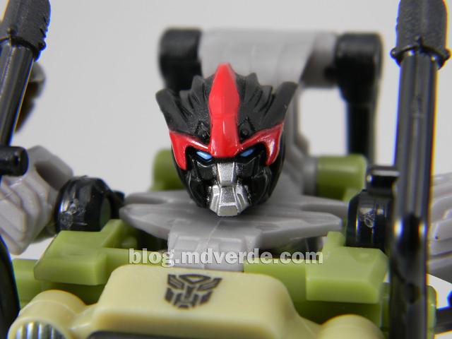 Transformers Sandstorm DotM Human Alliance - modo robot