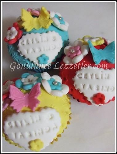 doğum günü muffinleri 2