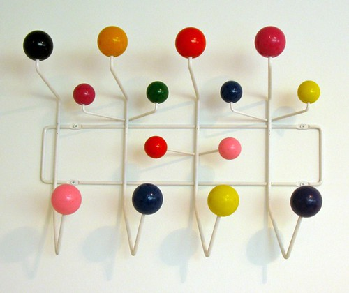 Hang-It-All coathanger by Charles and Ray Eames, 1953