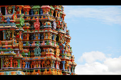 Indian Gopuram - Madurai Meenakshi Amman Temple