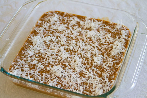 Butterscotch, SunButter, and Coconut Bars - 5
