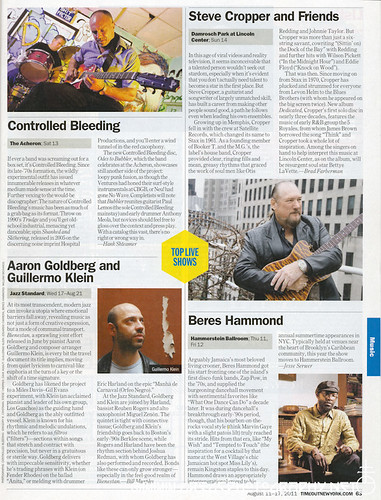 A-Controlled Bleeding Article In Time Out NY 2011-08-11.jpg by greg C photography™
