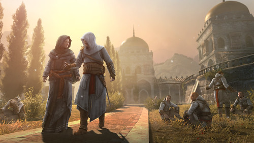 Assassin's Creed Revelations Masyaf_MariaThorpe&Altair