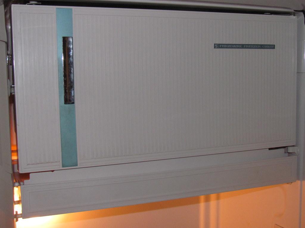 Freezer Door Antique Pink Frigidaire Refrigerator