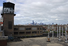 Up On The Roof (nitram242) Tags: roof chicago abandoned ice skyline clouds fire graffiti factory marcus coh harris 511 harrismarcus