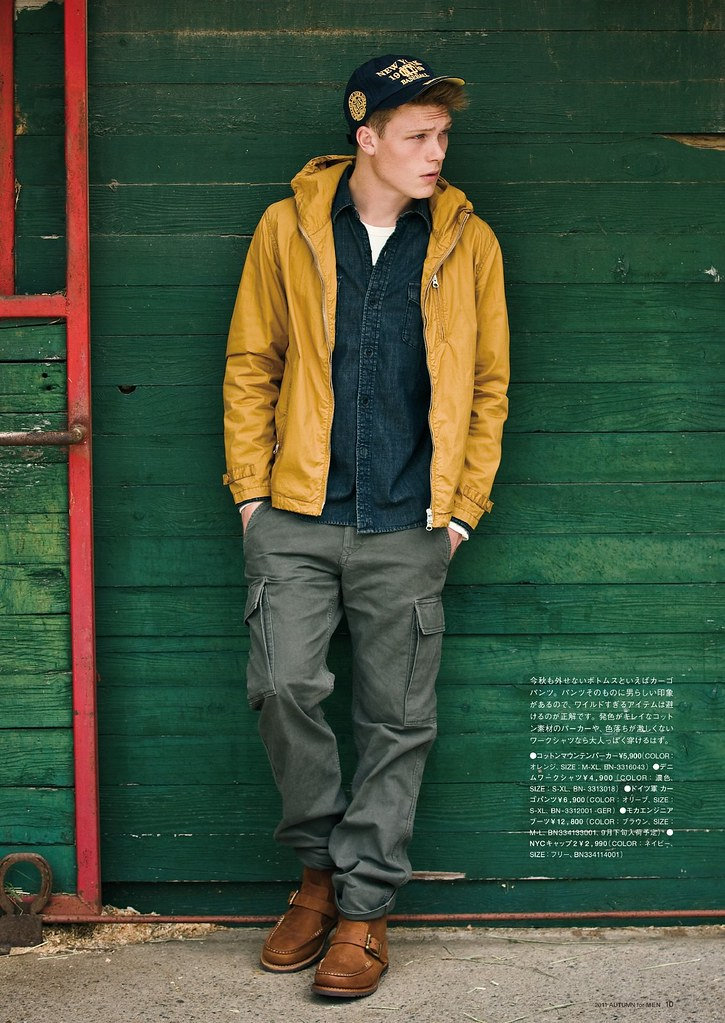 Tommy Kristiansen0036_Right-on 2011 Autumn Calalog