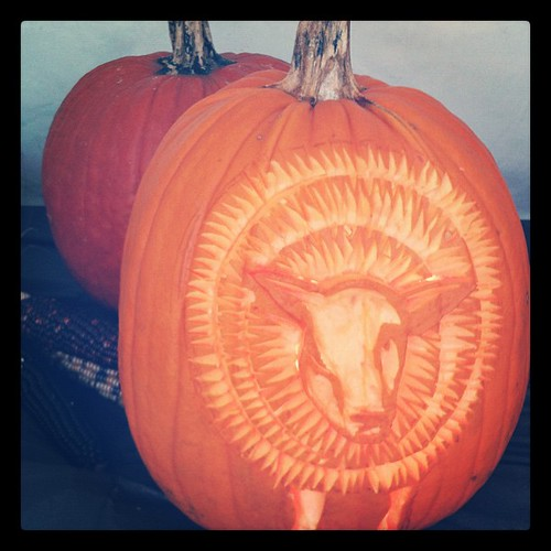 Sheep pumpkin!!! #rhinebeck