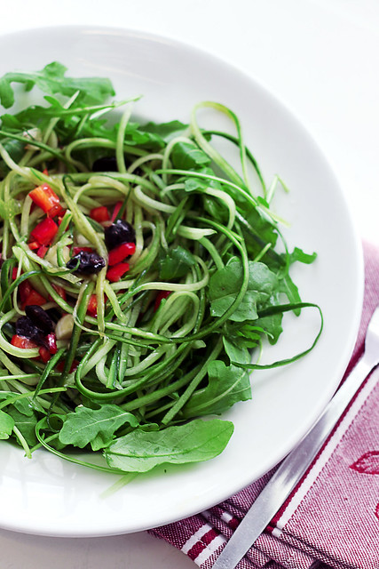 Cucumber, Red Pepper and Rocket