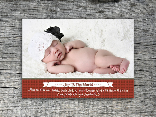 Joy To The World Baby Announcement_LAY_Red, Save The Date Announcement Card, We're Getting Married Announcement Card, We're Engaged Annoucement Card, Wishing You a Very Merry Christmas Card Design, Holiday Announcement Card, Personalized Party Invitation, Birthday Invitation Designs, Fabulous Invitation Designs, DIY Party Design Invitations, DIY Personalized Invitations, Sweet 16 Birthday Party Invitations, Baby Shower Invitations, Bridal Shower Invitations, Do-it-Yourself Party Design Invitations