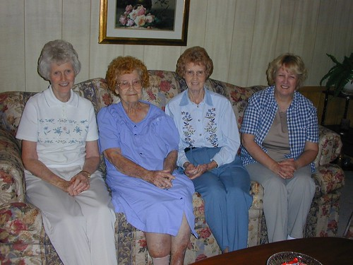 The Matriarch with Three Daughters
