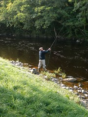 Action (thomvb) Tags: fishing salmon stinchar knockdolian