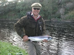 Fresh run salmon, lovely! (thomvb) Tags: fishing salmon stinchar knockdolian