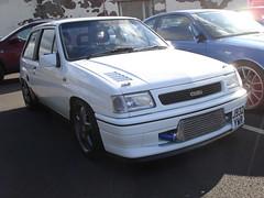 1991 Vauxhall Nova Flair (GoldScotland71) Tags: nova special modified 1991 edition flair vauxhall customised gsi j932ywr