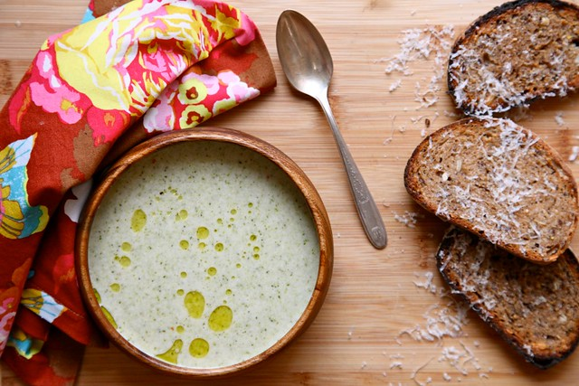 Vegan Cream of Broccoli Soup | Joy the Baker