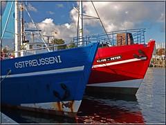 Fischerboote in Heiligenhafen (Ostseetroll) Tags: water boats fishing balticsea trawler fischerboote