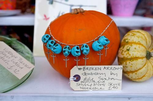 Elle Sexton necklace at Flo & Stan's, Albert Road