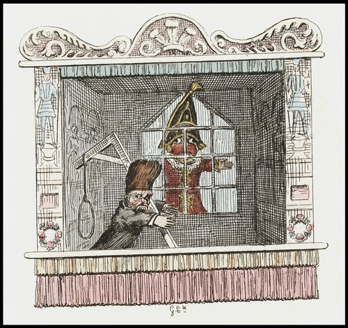 Punch and Judy by George Cruikshank, 1828 i