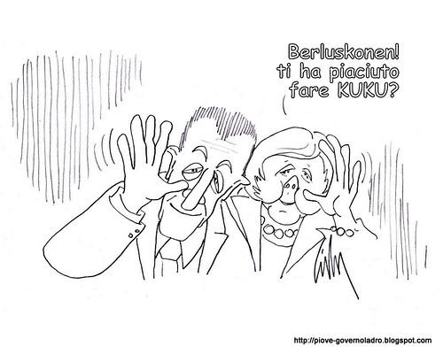 Sarkozy Merkel, ultimatum al premier by Livio Bonino