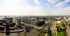 Overlooking Rotterdam