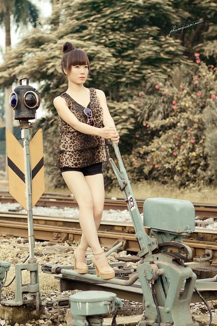 Robot .. tàu điện