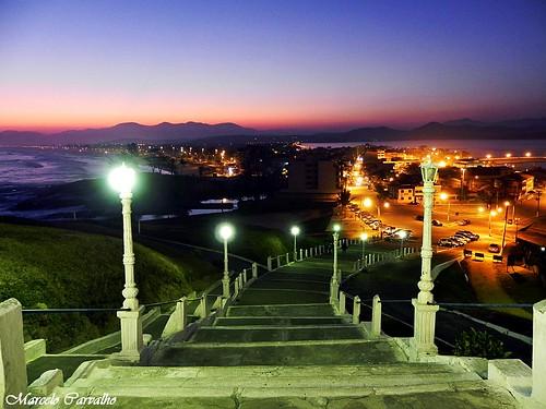 Escadaria da Igreja Matriz Nossa Senhora do Nazareth