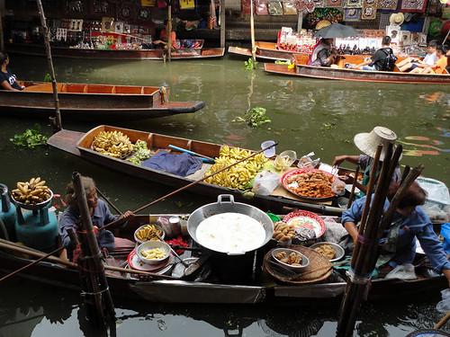 Thailand 43 floating market